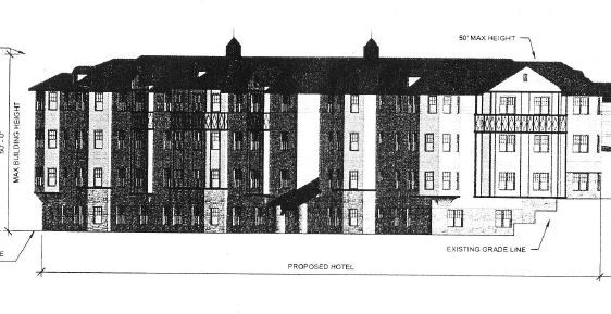 ELM COURT ANNEX HOTEL AS PROPOSED